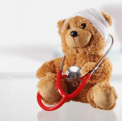 Medical teddy bear